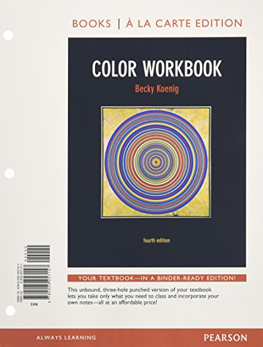 9780205257157: Color Workbook, Books a la Carte Edition (4th Edition)