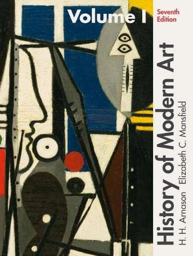 9780205259489: History of Modern Art Volume I (7th Edition)
