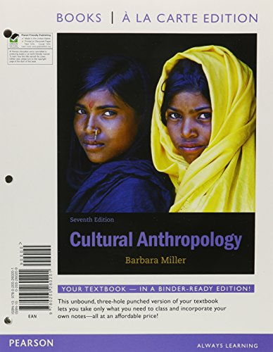 9780205260218: Cultural Anthropology, Books a la Carte Plus NEW MyAnthroLab with eText -- Access Card Package (7th Edition)