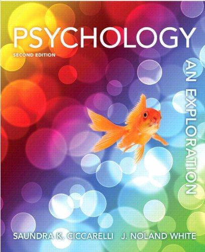 9780205260522: Psychology: An Exploration, Books a la Carte Edition (2nd Edition)