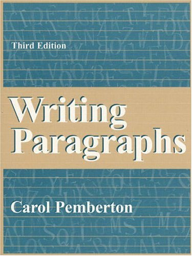 9780205260799: Writing Paragraphs (3rd Edition)