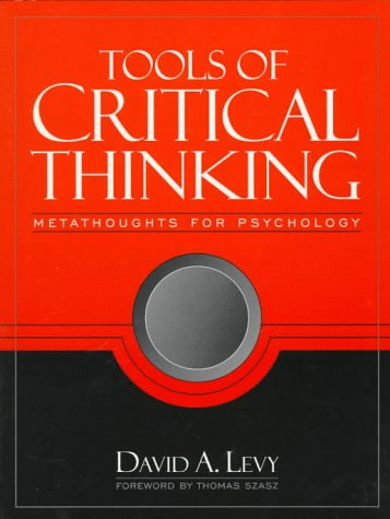 9780205260836: Tools of Critical Thinking: Metathoughts for Psychology