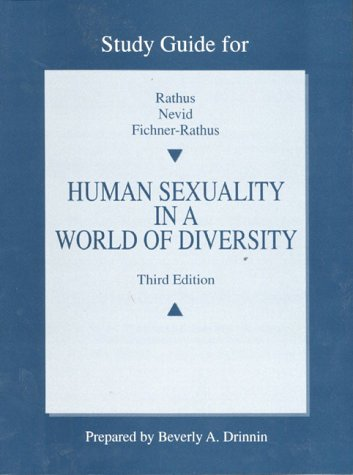 Study Guide for Human Sexuality in a World of Diversity: Drinnin, Beverly A.