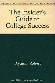 9780205261376: The Insider's Guide to College Success