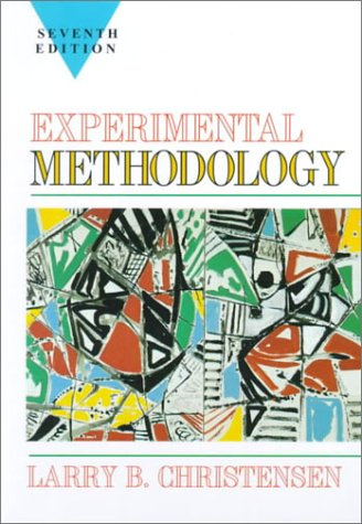 9780205263653: Experimental Methodology