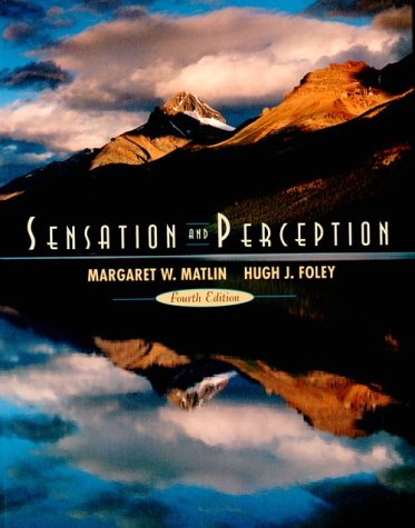 9780205263820: Sensation and Perception (4th Edition)