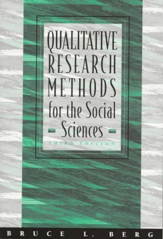 9780205264759: Qualitative Research Methods for the Social Sciences