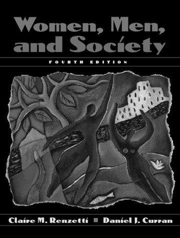 9780205265626: Women, Men and Society