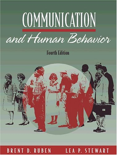 9780205267699: Communication and Human Behavior (4th Edition)
