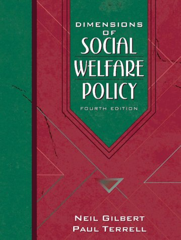 9780205267712: Dimensions of Social Welfare Policy