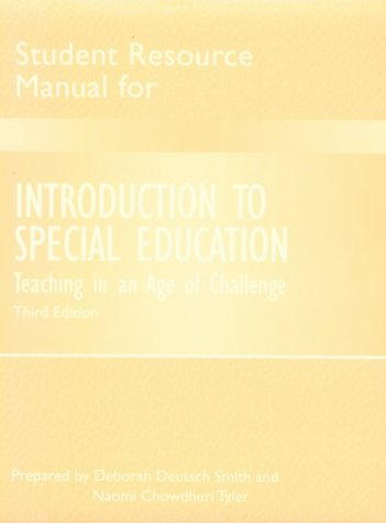 Introduction to Special Education: Luckasson, Ruth