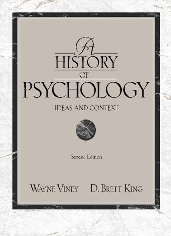 9780205268573: A History of Psychology: Ideas and Context (2nd Edition)
