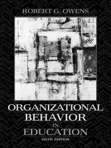 9780205269099: Organizational Behavior in Education