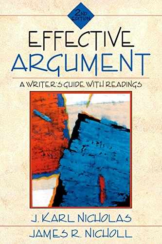9780205270392: Effective Argument: A Writer's Guide with Readings (2nd Edition)