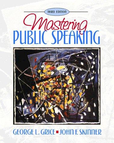9780205270927: Mastering Public Speaking