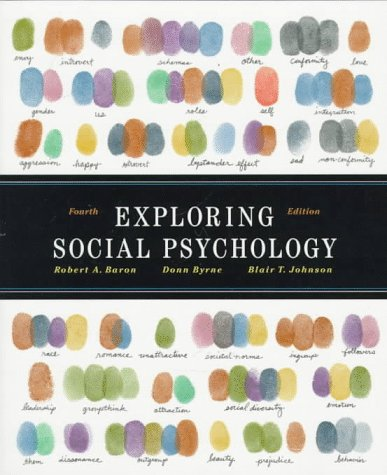 9780205271122: Exploring Social Psychology (4th Edition)
