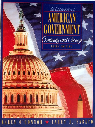 9780205272303: Essentials of American Government: Continuity and Change
