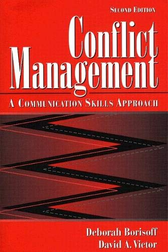 9780205272945: Conflict Management: A Communication Skills Approach (2nd Edition)