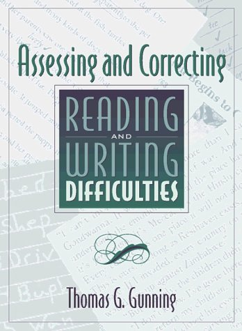 9780205274383: Assessing and Correcting Reading and Writing Difficulties