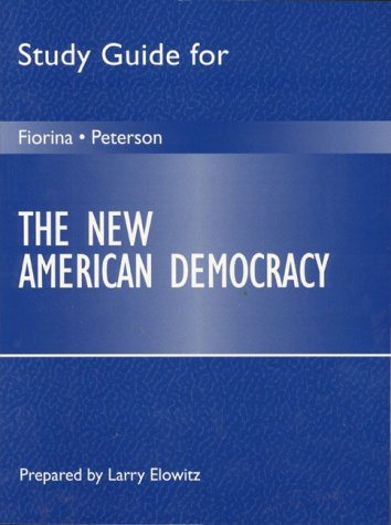 9780205274840: Study Guide for the New American Democracy