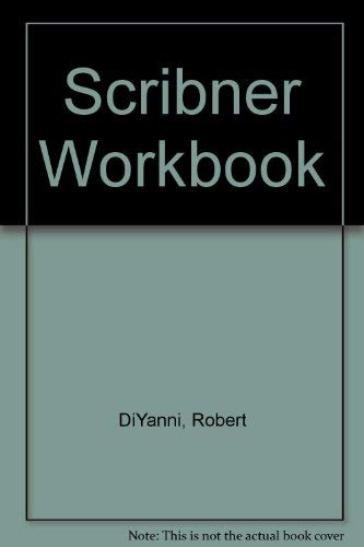 9780205275014: Scribner Handbook for Writers