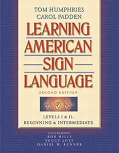9780205275533: Learning American Sign Language: Levels I & II--Beginning & Intermediate: Beginning and Intermediate Levels 1 & 2