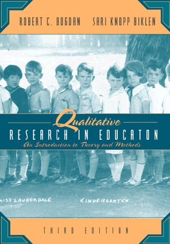 9780205275649: Qualitative Research for Education: An Introduction to Theory and Methods (3rd Edition)