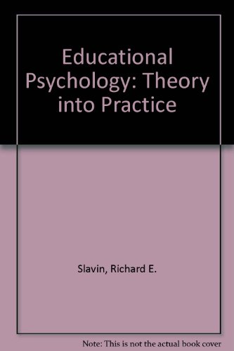 9780205275861: Educational Psychology : Theory and Practice/a Practical Guide to Cooperative Learning and Practical Guide