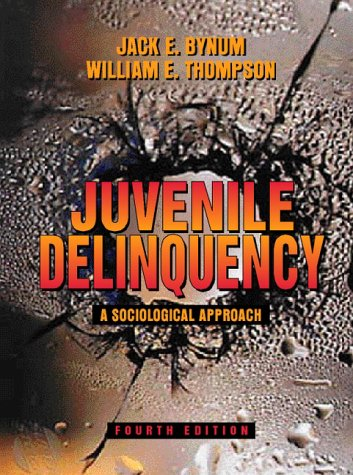 9780205276127: Juvenile Delinquency: A Sociological Approach