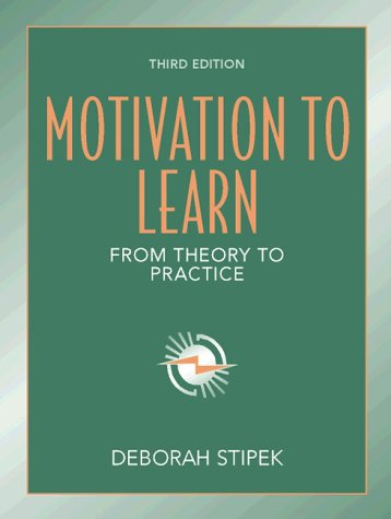 9780205277773: Motivation to Learn:from Theory to Practice