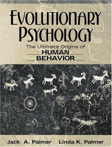 9780205278688: Evolutionary Psychology: The Ultimate Origins of Human Behavior