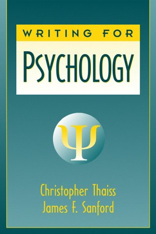 9780205280018: Writing for Psychology