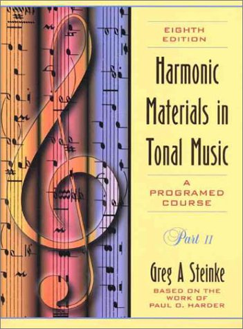 9780205281480: Harmonic Materials in Tonal Music: A Programed Course, Part 2 (with Student Tapes)