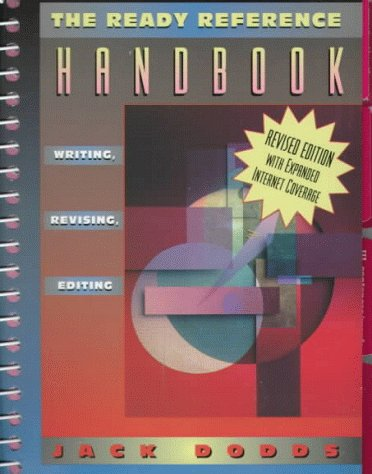 9780205281916: Ready Reference Handbook, The: Writing, Revising and Editing (Revised Edition with Expanded Internet Coverage)
