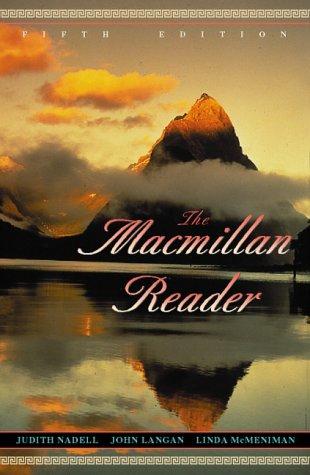9780205282166: Macmillan Reader, The