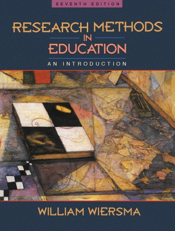 9780205284924: Research Methods in Education: An Introduction (7th Edition)