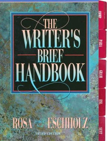 9780205285129: Writer's Brief Handbook, The