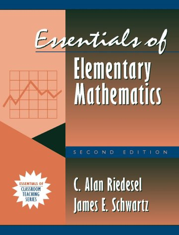 9780205287505: Essentials of Elementary Mathematics: (Part of the Essentials of Classroom Teaching Series) (2nd Edition)