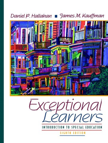 Exceptional Learners: Introduction to Special Education