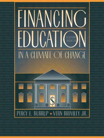 9780205287833: Financing Education in a Climate of Change