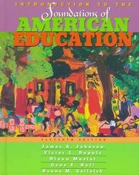 INTRO.TO FOUND.OF AMER.EDUC.>E: James; Gollnick Johnson