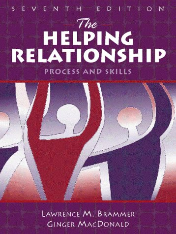 Helping Relationship 9780205290420 This book describes, in non-technical language, the human helping process and provides training for anyone interested in becoming a helper. Using a systematic approach, the text focuses on how to help people help themselves. The seventh edition is complete with examples and step-by-step outlines of how to begin developing basic counseling skills. Important personal issues of being a helper are raised for the readers to consider as they enter professional or paraprofessional roles as helpers.