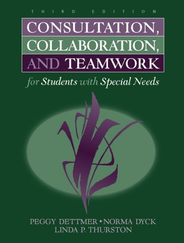 9780205290659: Consultation, Collaboration, and Teamwork for Students With Special Needs