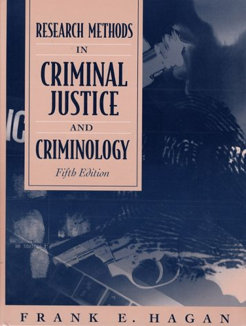 9780205292967: Research Methods in Criminal Justice and Criminology (5th Edition)