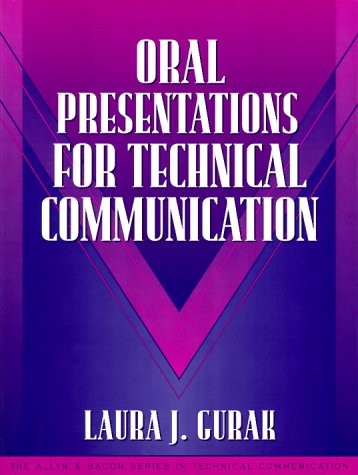 9780205294152: Oral Presentations for Technical Communication: (Part of the Allyn & Bacon Series in Technical Communication) (The Allyn and Bacon Series in Technical Communication)