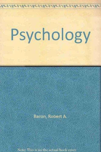 Psychology: Robert A. Baron,