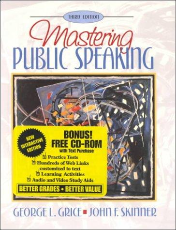 9780205294787: Mastering Public Speaking