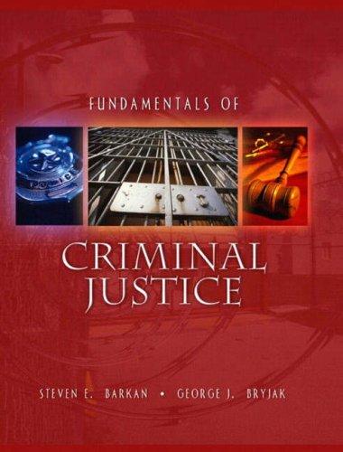 9780205295180: Fundamentals of Criminal Justice