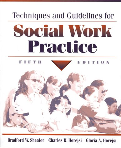 9780205295555: Techniques and Guidelines for Social Work Practice (5th Edition)
