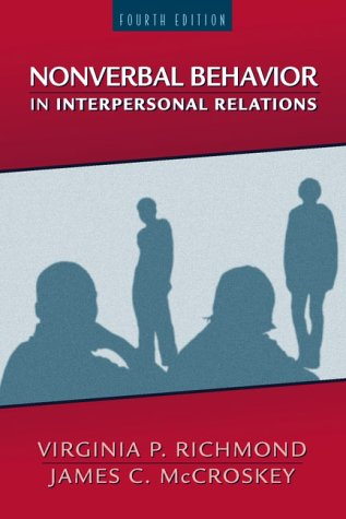9780205295777: Nonverbal Behavior in Interpersonal Relations (4th Edition)